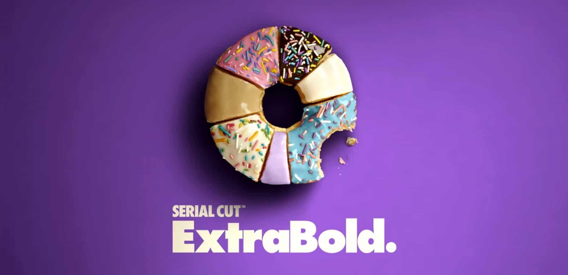 Serial Cut Extrabold